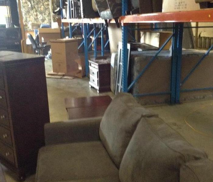 Flooded Furniture Warehouse After