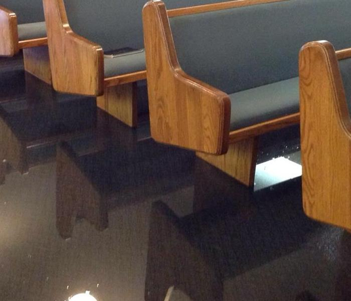 Frozen Pipe Floods Church