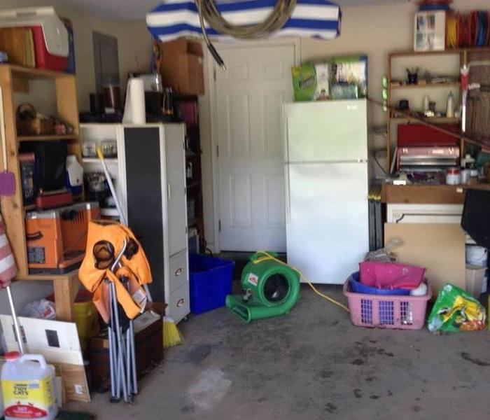 Flooded Garage After Storms