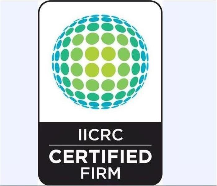 Why SERVPRO IICRC Certified Firms